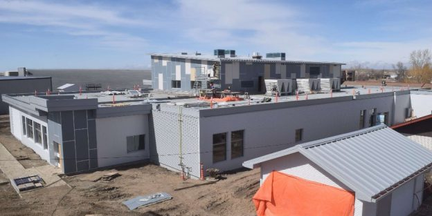 Leader and District Integrated Healthcare Facility Construction Update